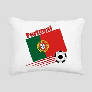 Portugal Soccer Team Rectangular Canvas Pillow