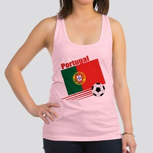 Portugal Soccer Team Racerback Tank Top