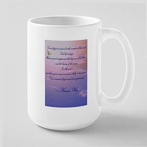GRATITUDE POEM Large Mug