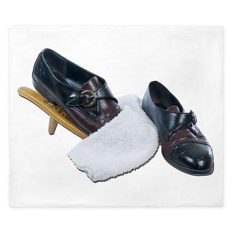 Shoe Shine and Wedge King Duvet