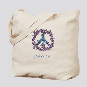 Daydream Flower Peace - Peace Tote Bag