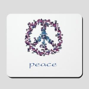 Daydream Flower Peace - Peace Mousepad