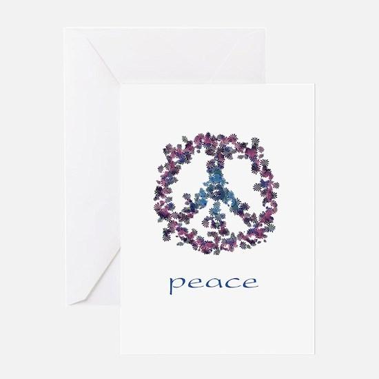 Daydream Flower Peace - Peace Greeting Card