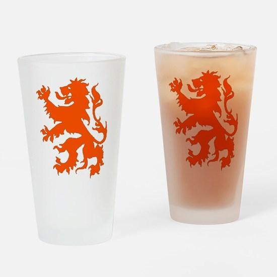 Dutch Lion Drinking Glass