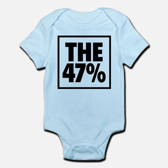 The 47 Percent Infant Bodysuit