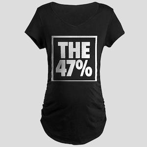 The 47 Percent Maternity Dark T-Shirt