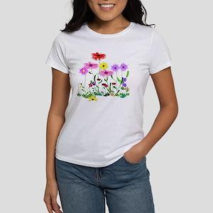 Flower Bunch Women's Classic White T-Shirt