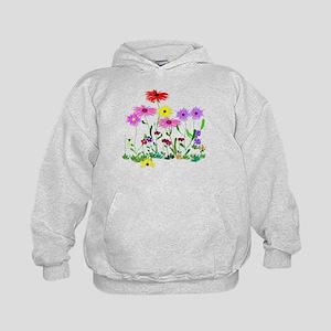 Flower Bunch Kids Hoodie