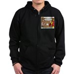 Metal Working Zip Hoodie (dark)