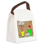Climbing Canvas Lunch Bag