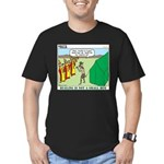 Bugling Men's Fitted T-Shirt (dark)