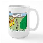Bugling Large Mug
