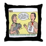 Moon Rover Throw Pillow