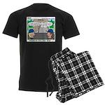 Moving Up Men's Dark Pajamas