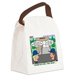 Moving Up Canvas Lunch Bag