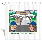 Moving Up Shower Curtain
