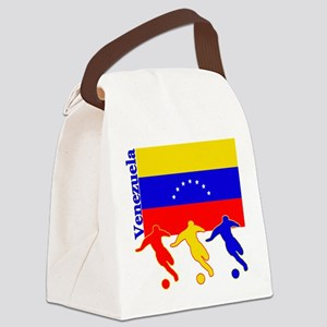 Soccer Venezuela Canvas Lunch Bag