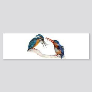 Malachite Kingfishers - It Still Counts Sticker (B