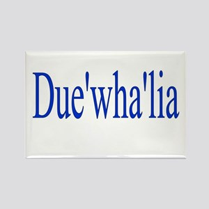 Duewhalia Rectangle Magnet