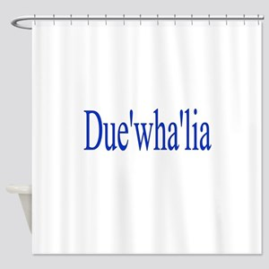 Duewhalia Shower Curtain