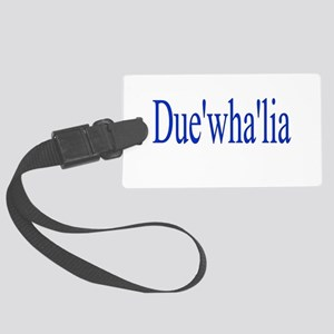 Duewhalia Large Luggage Tag