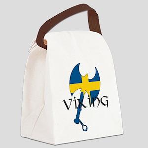 Swedish Viking Canvas Lunch Bag