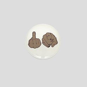 Fuck You Mini Button