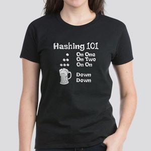 Hashing Dots Women's Dark T-Shirt
