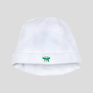 Custom Martial Arts Green Belt baby hat