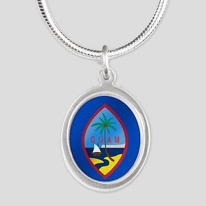 Flag of Guam Necklaces