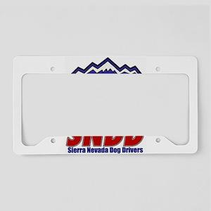 snddlogo98big License Plate Holder