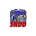 snddlogo98big 35x21 Wall Decal