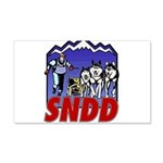 snddlogo98big 20x12 Wall Decal