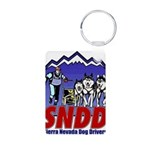snddlogo98big Aluminum Photo Keychain