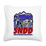 snddlogo98big Square Canvas Pillow