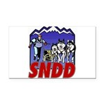 snddlogo98big Rectangle Car Magnet