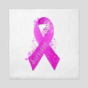 Breast Cancer Survivor Queen Duvet