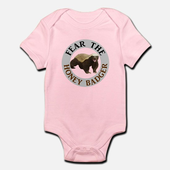 Honey Badger Fear Infant Bodysuit