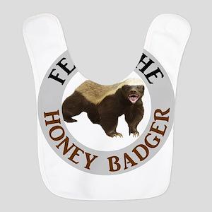 Honey Badger Fear Polyester Baby Bib
