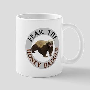 Honey Badger Fear 11 oz Ceramic Mug
