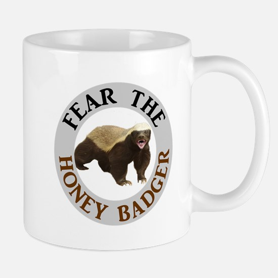 Honey Badger Fear Mug