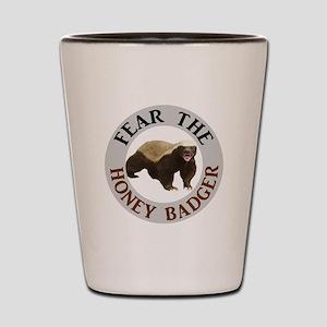 Honey Badger Fear Shot Glass
