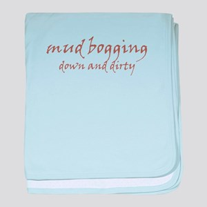 Mud Bogging baby blanket