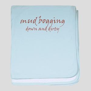 Mud Bogging baby blanket