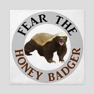 Honey Badger Fear Queen Duvet
