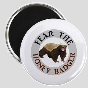 Honey Badger Fear Magnet