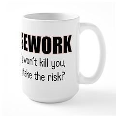 Housework Large Mug