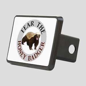 Honey Badger Fear Rectangular Hitch Cover