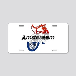 Amsterdam Bicycle Aluminum License Plate