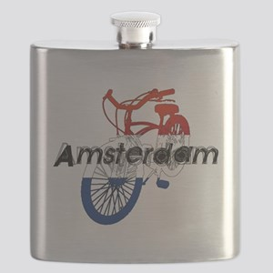 Amsterdam Bicycle Flask